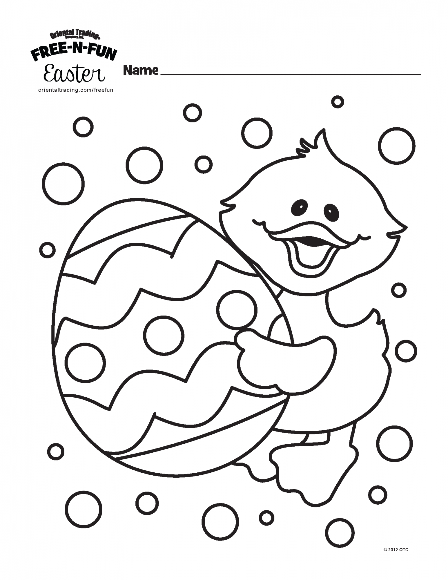 Kids Easter Coloring Contest - Staffing Partners Ohio